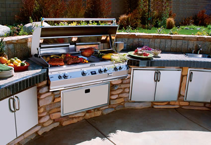 This Amazing Built In Grill Has A Huge 1056 Square Inch Cooking Surface And Every Feature Imaginable Make