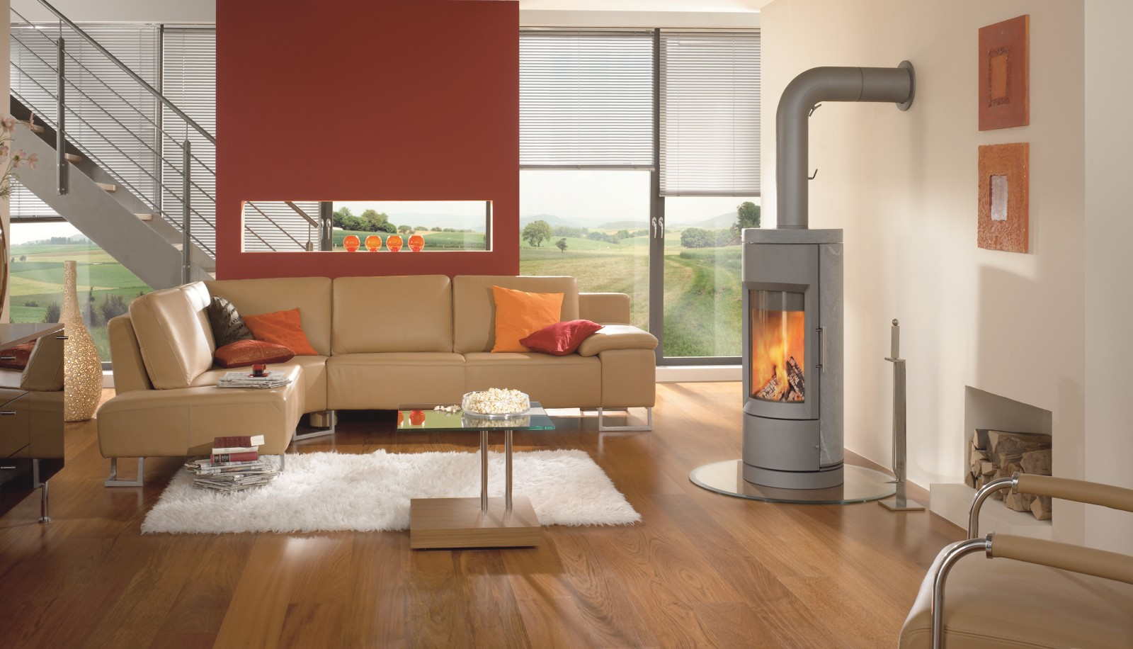 Contemporary Wood Stoves in Okemos, MI | Heat\'n Sweep
