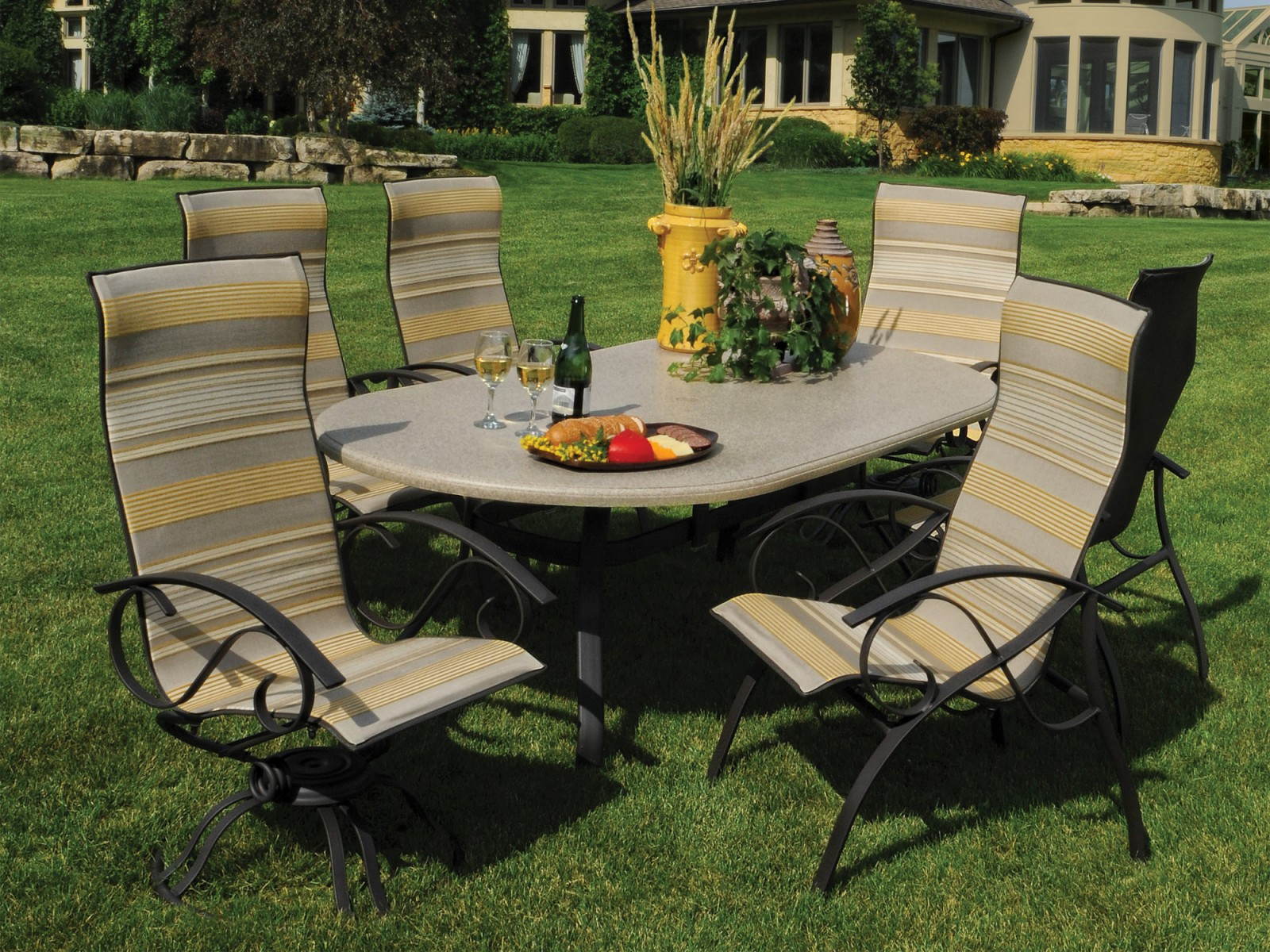 Steel Dining Archives Hot Tubs Fireplaces Patio Furniture