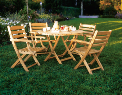 Teak dining sets teak patio furniture lansing mi for Outdoor furniture bunbury