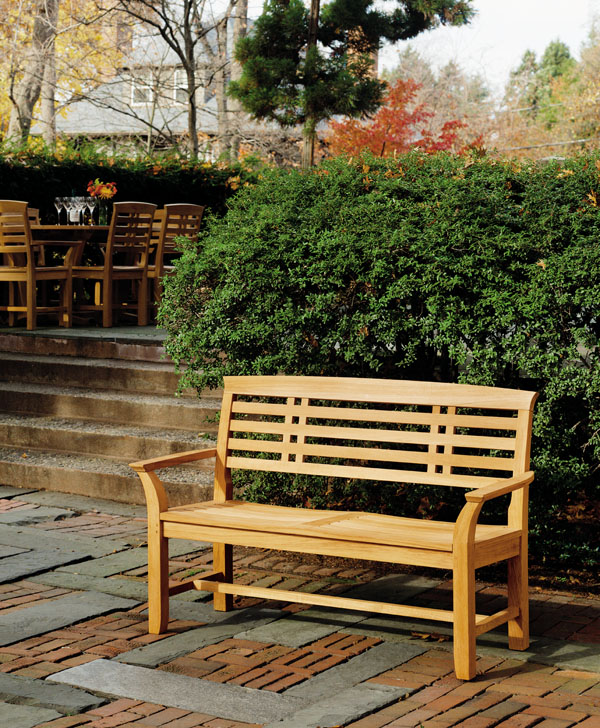 teak park benches benches archives hot tubs fireplaces patio furniture heat n