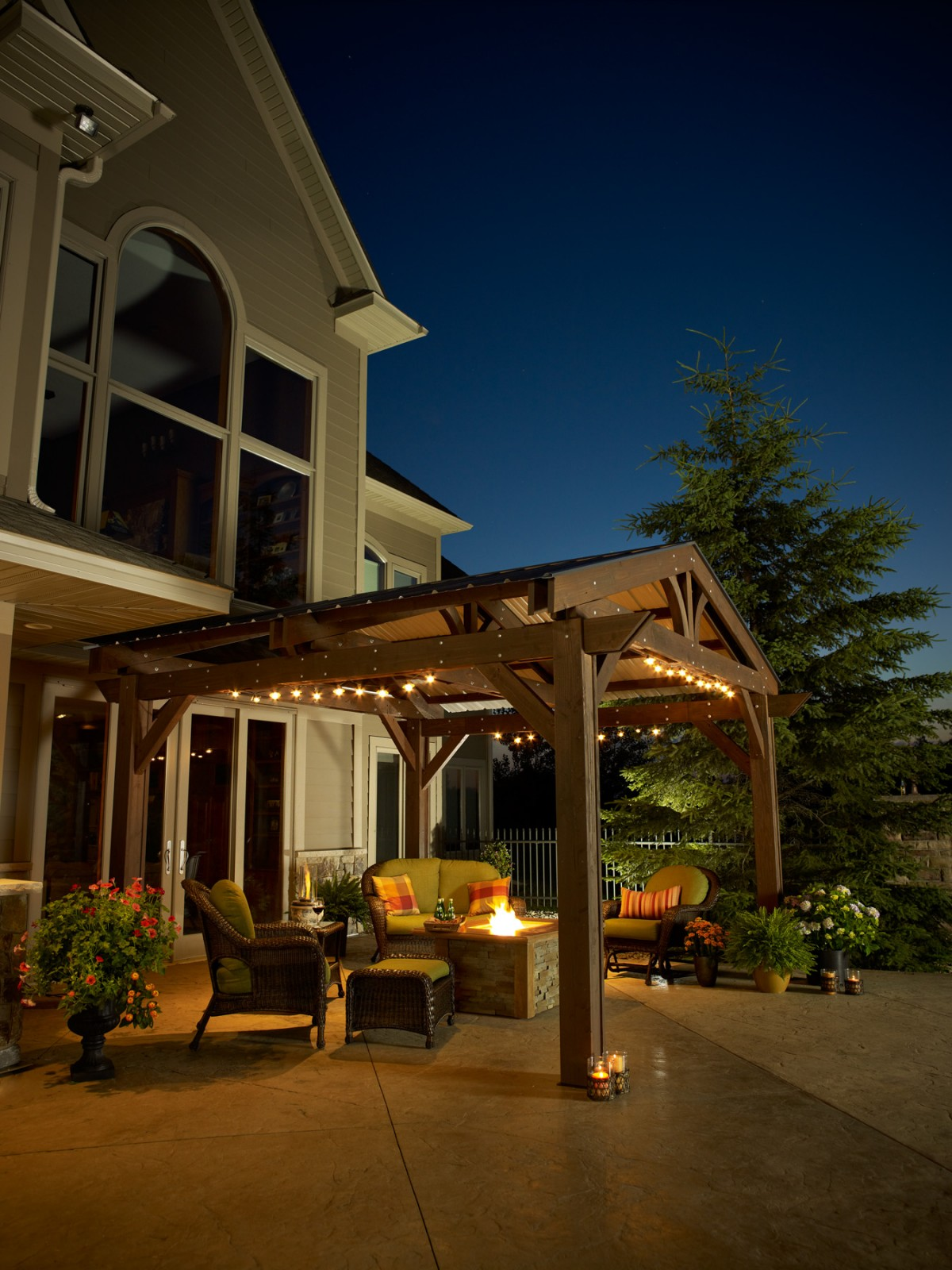 Deck Roof Lighting