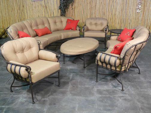 Superb Athens Patio Deep Seating Patio Furniture   Meadowcraft Outdoor Furniture  Sheenas Garden Design
