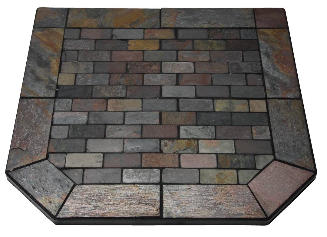 Flagstone Hearth Pad | Wood Stove Hearth Pad in Okemos, MI