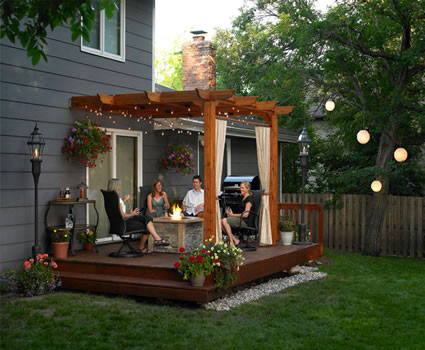 Make your deck a special living space with the Sierra Patio Pergola. Add  dimension and style to your deck with a simply elegant wooden pergola for  sale in a ... - Patio Pergola For Sale In Okemos, MI Heat'N Sweep