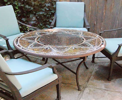 Mosaic Tables Archives Hot Tubs Fireplaces Patio Furniture