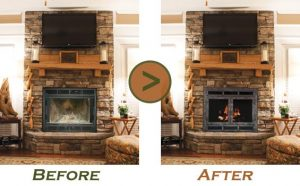 Superior Every Stoll Fireplace Door Is Unique; Engineered To Completely Cover Your  Wood Or Gas Manufactured Fireplace By Custom Sizing The Frame And The  Louvers To ...