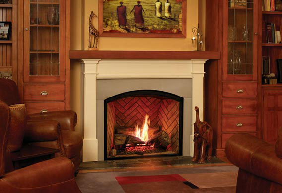 Town And Country Fireplace Tc 36 Arched Fireplace Okemos Mi