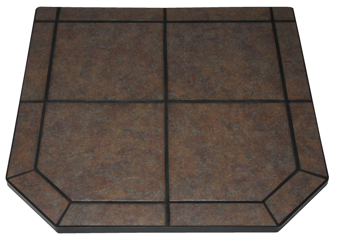 tile fireplace stone with metal black for pad dimensions slate ans pads design padding corner decor interior traditional perfect wall hearth outstanding