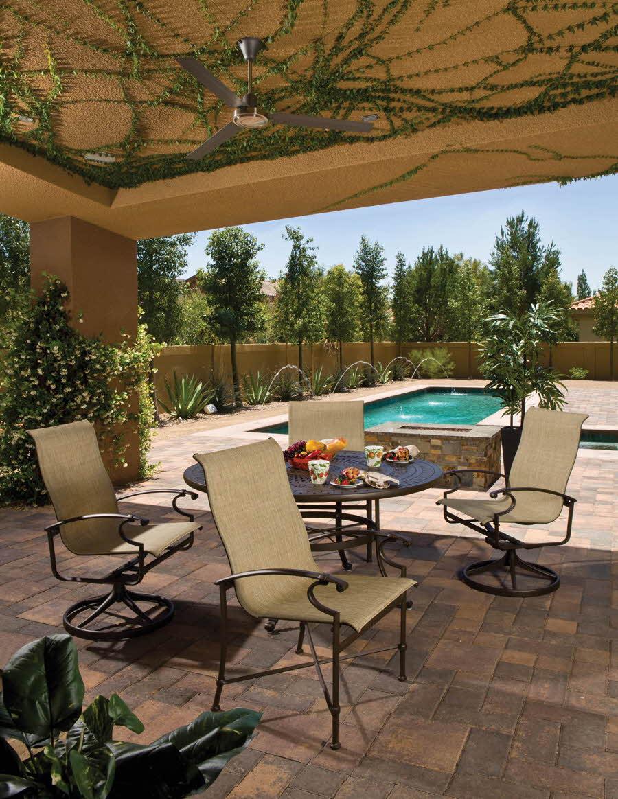 Aluminum Patio Dining Set | Aluminum Outdoor Furniture Okemos, MI