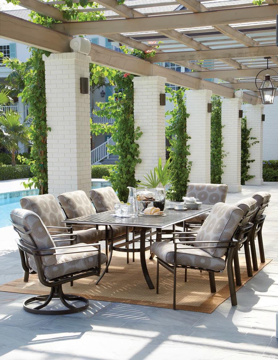 Aluminum Sling Patio Furniture Outdoor Table Sets Lansing Mi
