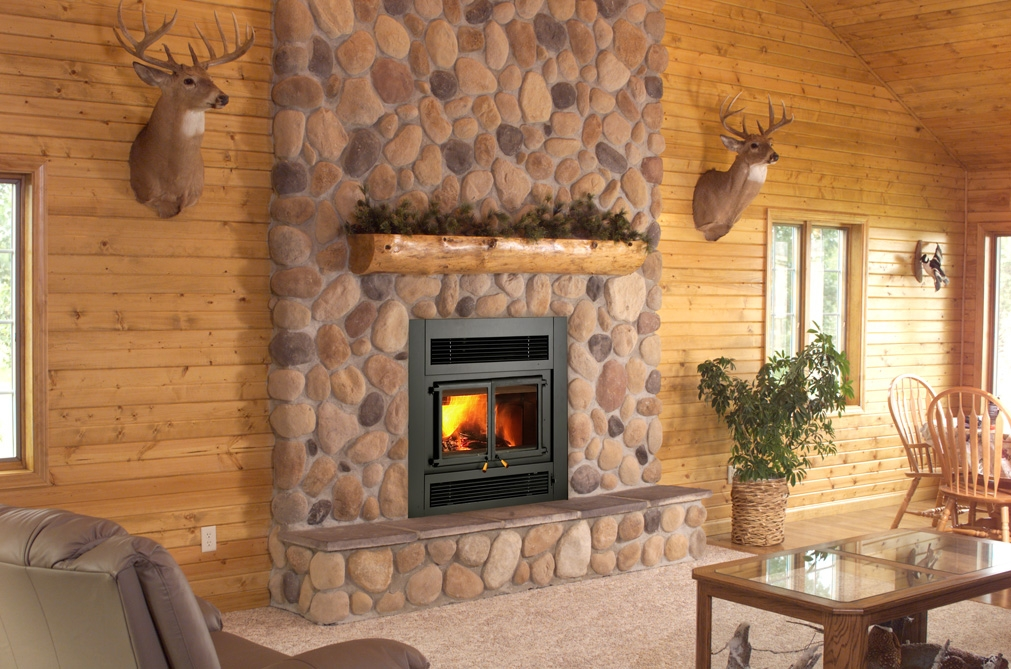 Indoor wood burning fireplaces wood fireplaces lansing mi for New construction wood burning fireplace