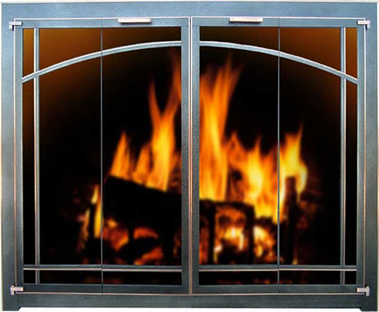 In Fireplace Gl Doors Fireplaces Hearth Stoll These