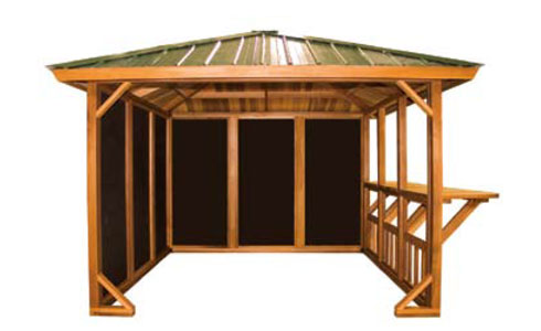 Spa Gazebos Wooden Pergolas In Okemos Mi
