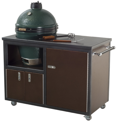Big Green Egg Custom Island