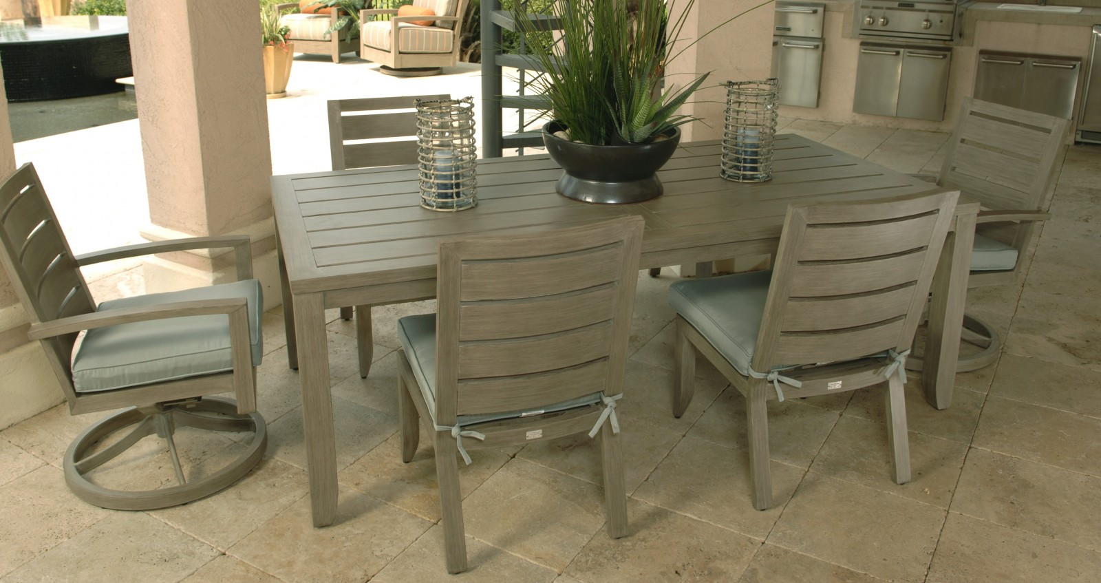 Naples Patio Furniture Dining Group
