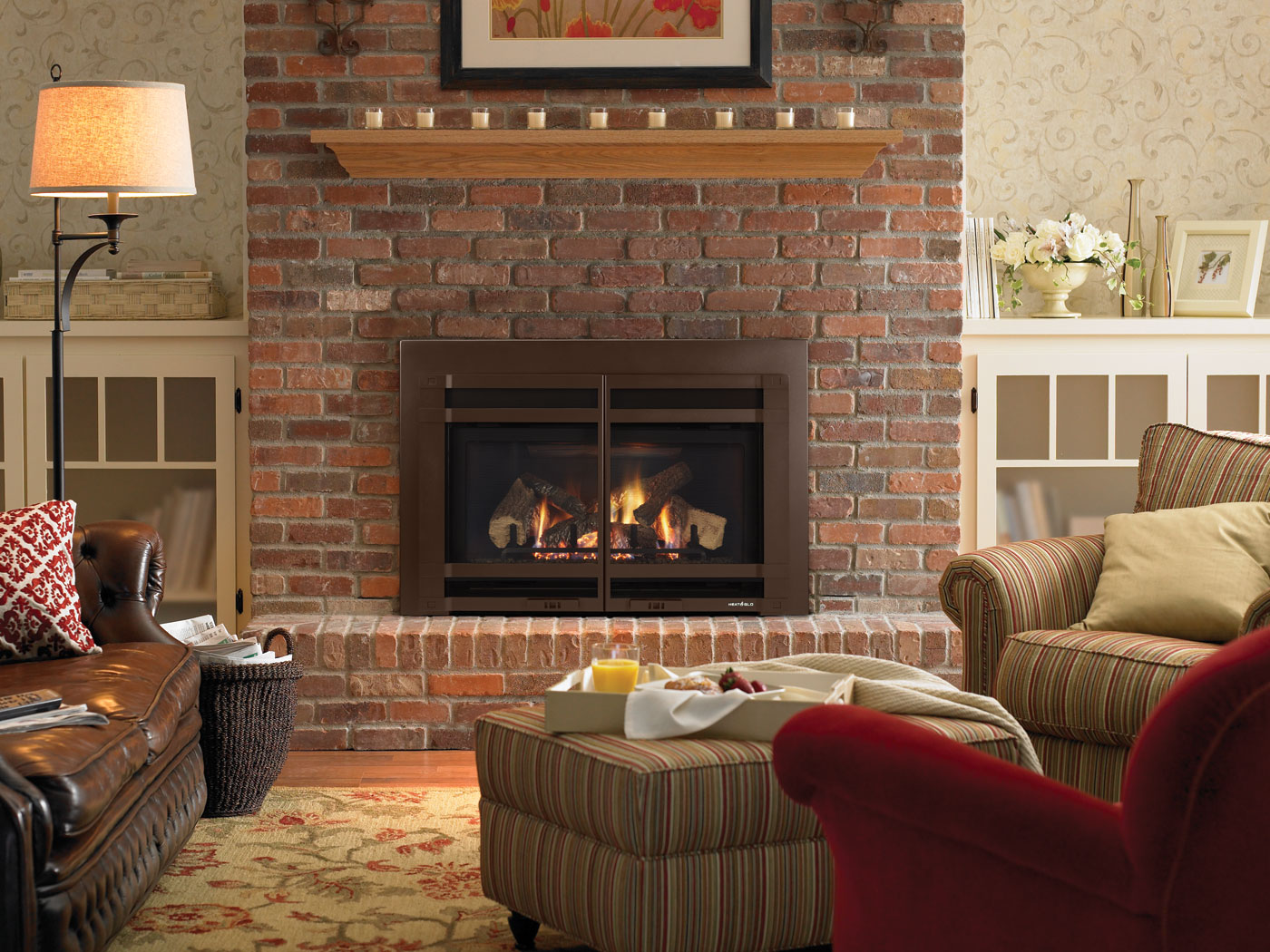 Decorating Ideas > Gas  Hot Tubs, Fireplaces, Patio Furniture  Heat N  ~ 143239_Transform The Look Fireplace Decorating Ideas