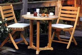 patio teak cafe group