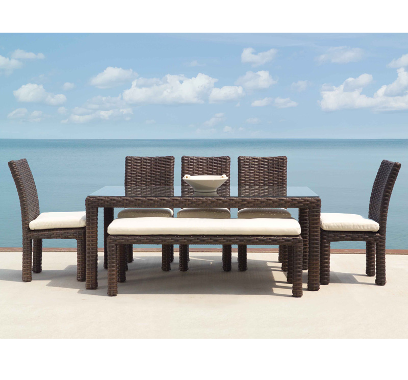 Charming ... Outdoor Table And Chair Sets Patio Dining Sets Lansing Mi The Contempo  Dining Set Watchthetrailerfo Vanity Outdoor Table Benches ...
