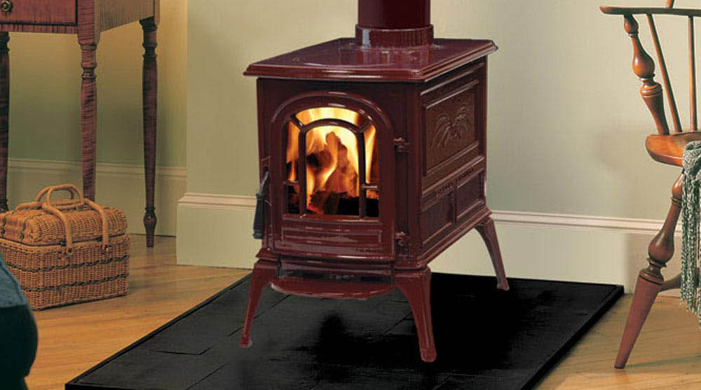 Vermont castings fireplaces inserts heat 39 n sweep for Small efficient wood stoves