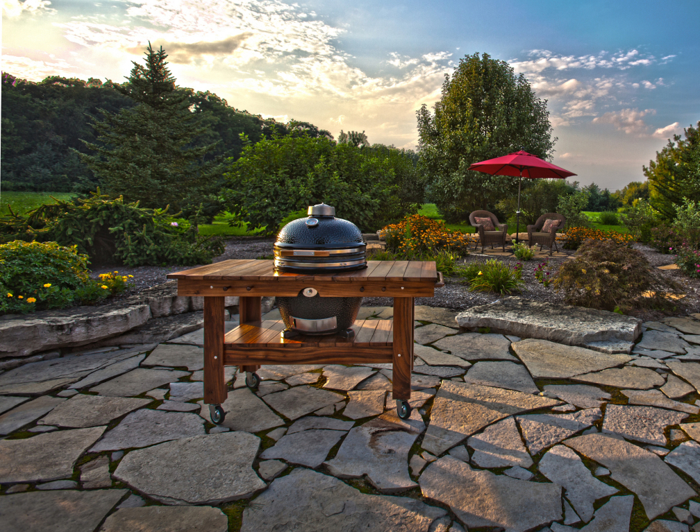 Outdoor Kitchens | Hot Tubs, Fireplaces, Patio Furniture - Heat 'N ...