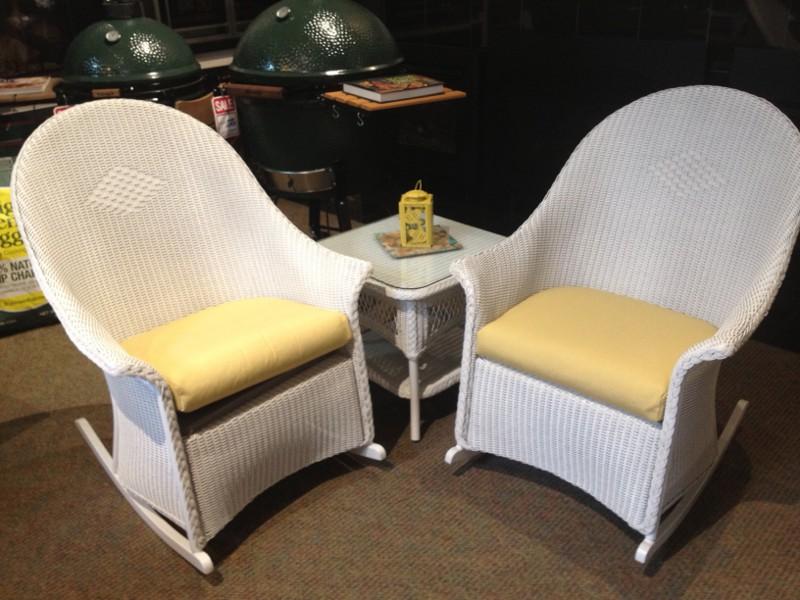 Lloyd Flanders Outdoor Wicker Rocking Chair In Okemos Mi