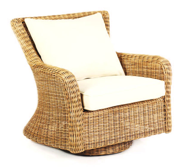 Sag Harbor Swivel Rocker Lounge Chair