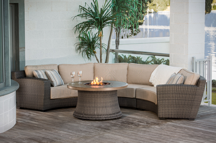 Outdoor Sectionals | Hot Tubs, Fireplaces, Patio Furniture - Heat ...