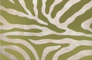Zebra Sage Mat