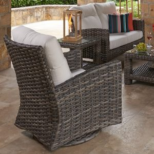 This Durable And Comfortable Collection Adds A Touch Of The Contemporary To  Any Outdoor Space.